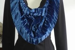Scarf 05 blue