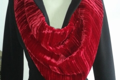 Scarf 07 red