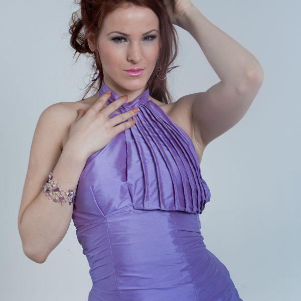 Lila/purple coctail dress